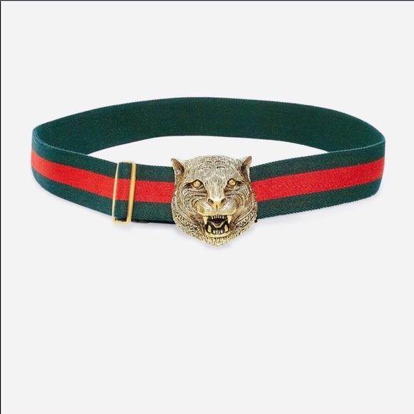 1171c9b7f35 Gucci Accessories - 💃🏽Gucci Tiger Buckle Web Belt💃🏽